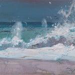 The Wave, acrylic on canvas