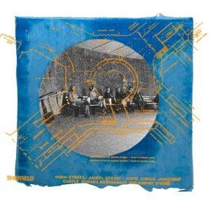 Jane Howard, Blue Monday, photoshop montage